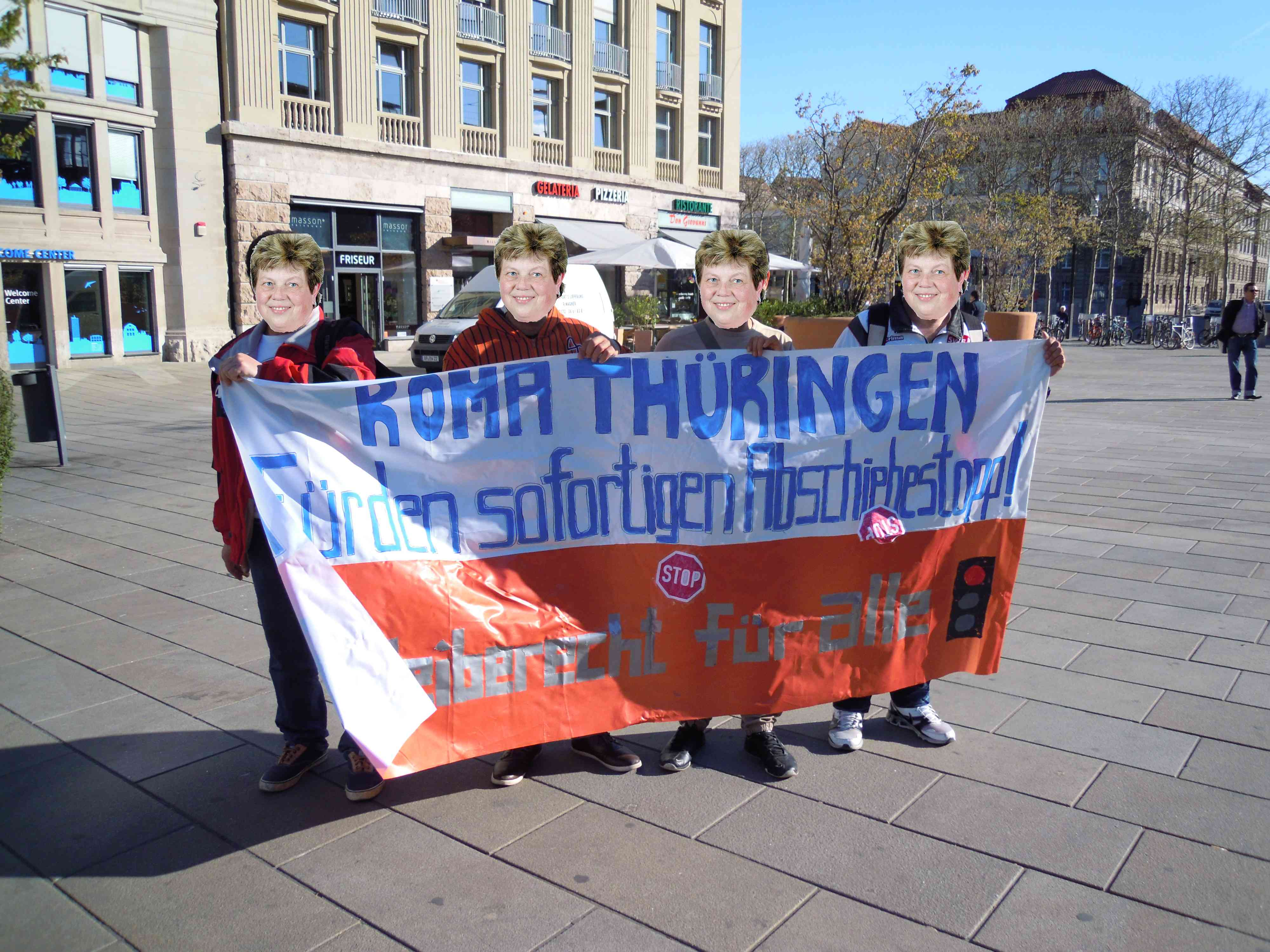 Roma Thüringen auf dem Weg nach Berlin